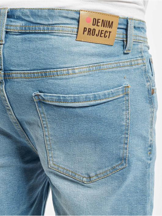 Denim Project Szorty Mr. Orange niebieski