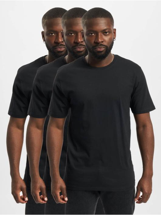 Denim Project T-paidat 3-Pack musta