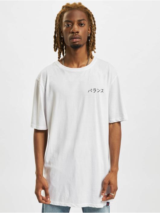 Denim Project T-shirt Dragon Washed Box Fit bianco