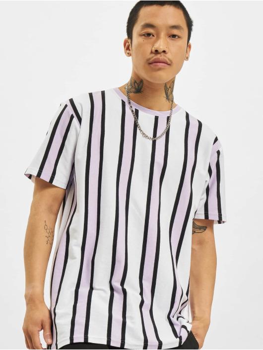 Denim Project T-Shirt Ramirez Stripe blanc