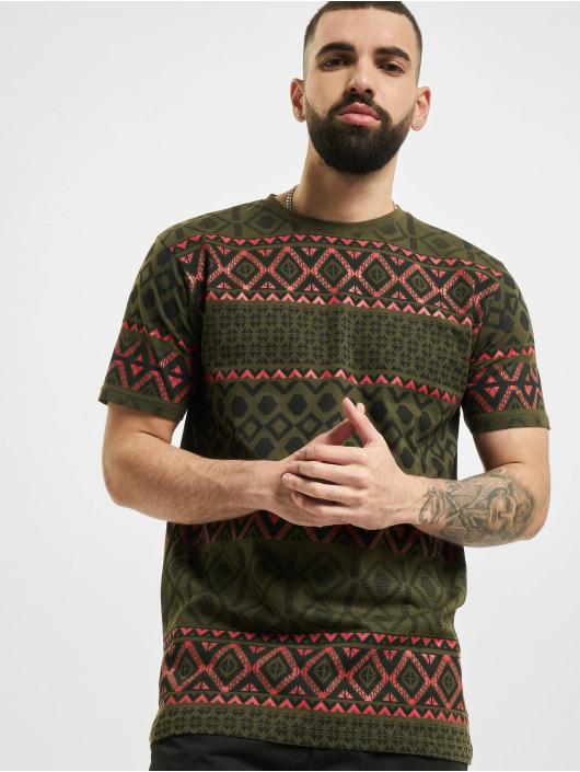 Denim Project T-Shirt Dp Aop green