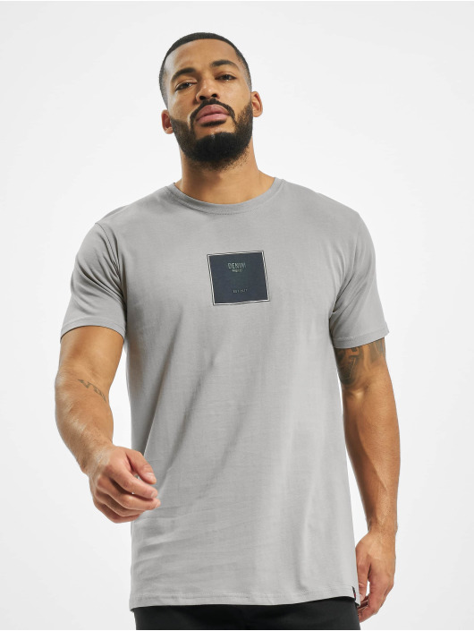 Denim Project T-Shirt Front S Logo grey