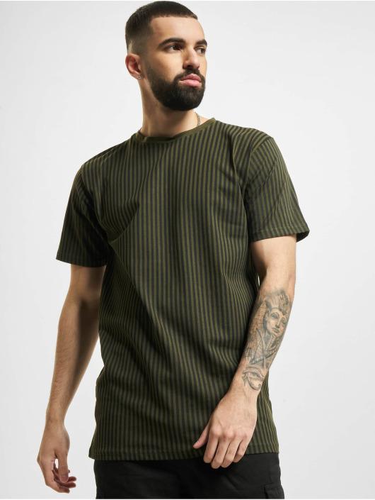Denim Project T-Shirt Dp Stripes grün