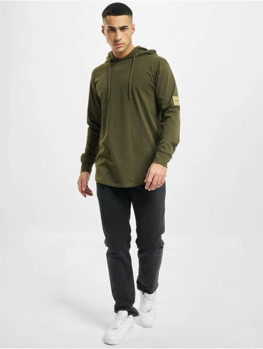 Denim Project T-Shirt manches longues Orlando Hoodie olive