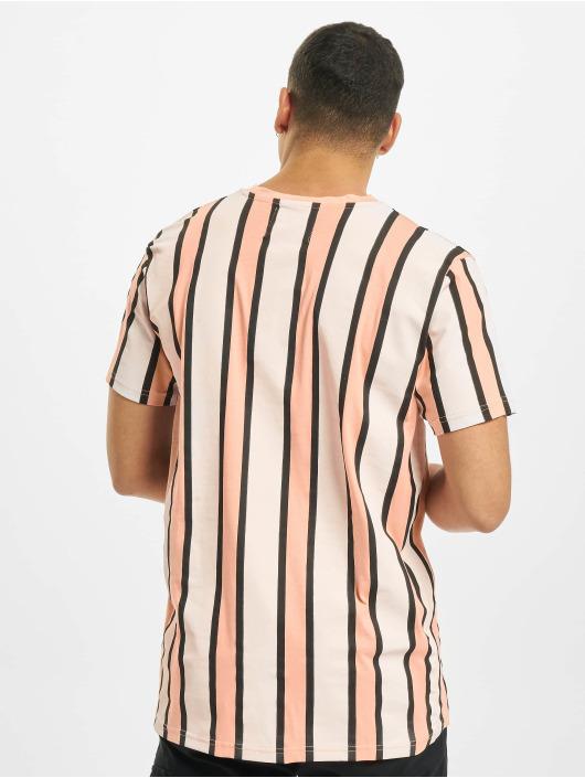 Denim Project T-Shirt Ramirez Stripe rosa