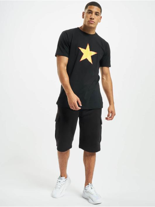 Denim Project T-Shirt Amed schwarz