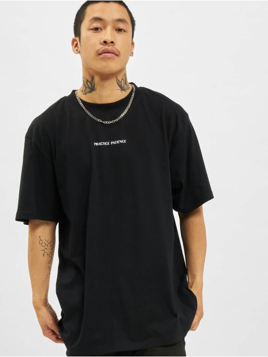 Denim Project T-Shirt Statement Relaxed schwarz