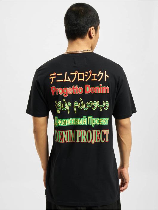 Denim Project T-Shirt Mojo schwarz