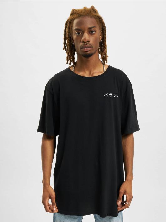 Denim Project T-Shirt Dragon Washed Box Fit schwarz