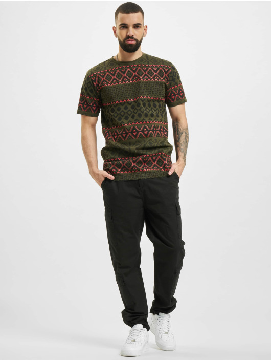 Denim Project T-Shirt Dp Aop vert