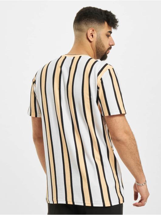 Denim Project T-Shirt Ramirez Stripe weiß