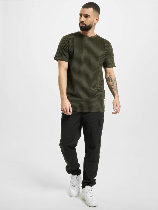 Denim Project T-Shirty Dp Stripes zielony