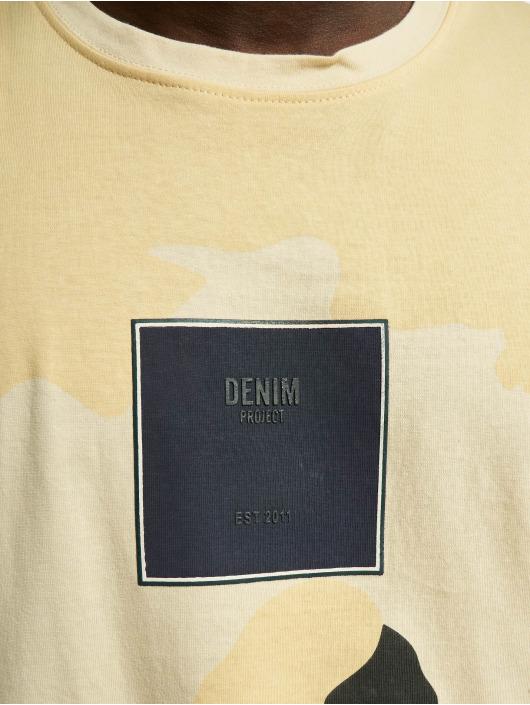 Denim Project Tričká Front S Logo maskáèová