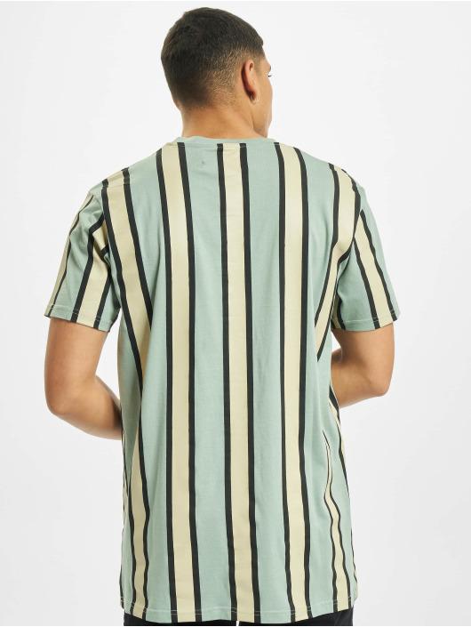 Denim Project Tričká Ramirez Stripe zelená