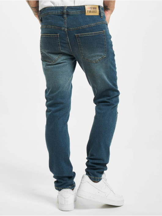 Denim Project Tynne bukser Mr. Black blå