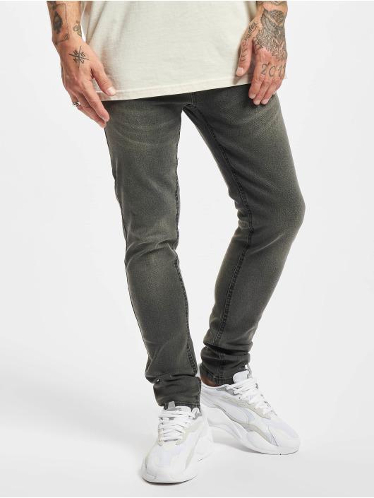 Denim Project Tynne bukser Flex grå