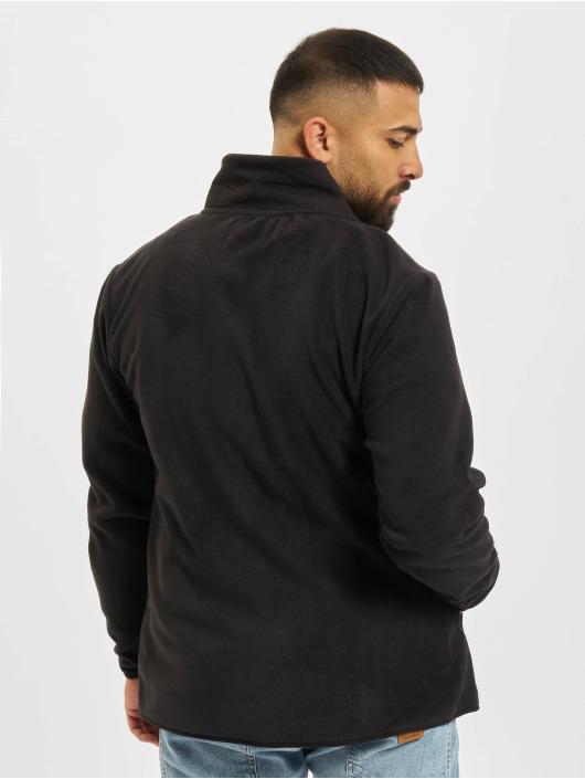 Denim Project Übergangsjacke Fleece Zip schwarz