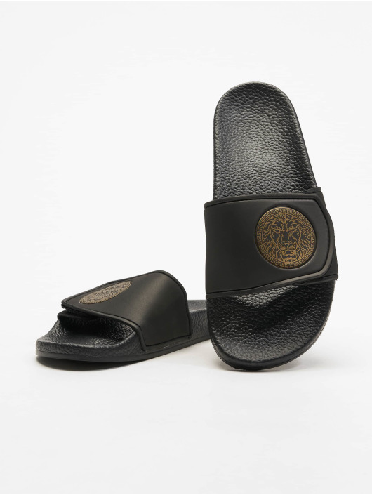 Deus Maximus Badesko/sandaler Augustus svart