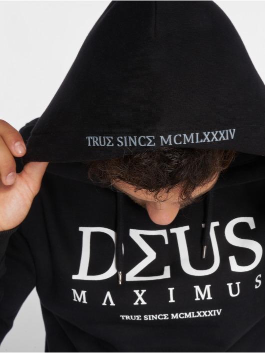 Deus Maximus Bluzy z kapturem Nemeaeus czarny
