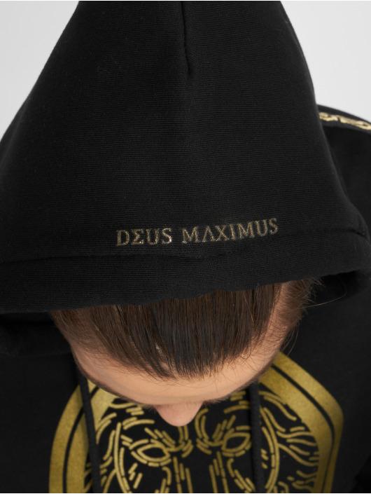 Deus Maximus Bluzy z kapturem Nemeos czarny