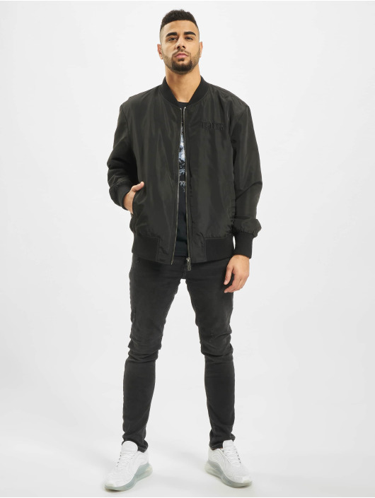 Deus Maximus Bomber jacket Phantom black