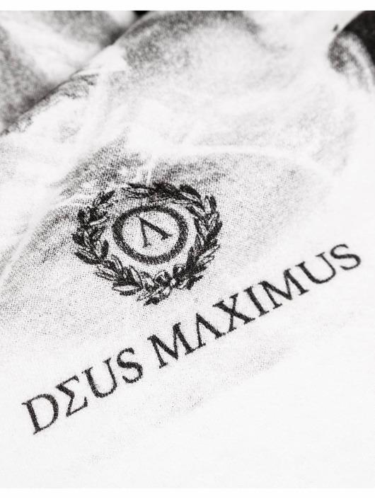 Deus Maximus Camiseta Hero blanco