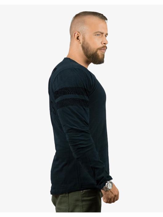 Deus Maximus Camiseta de manga larga Reptile negro