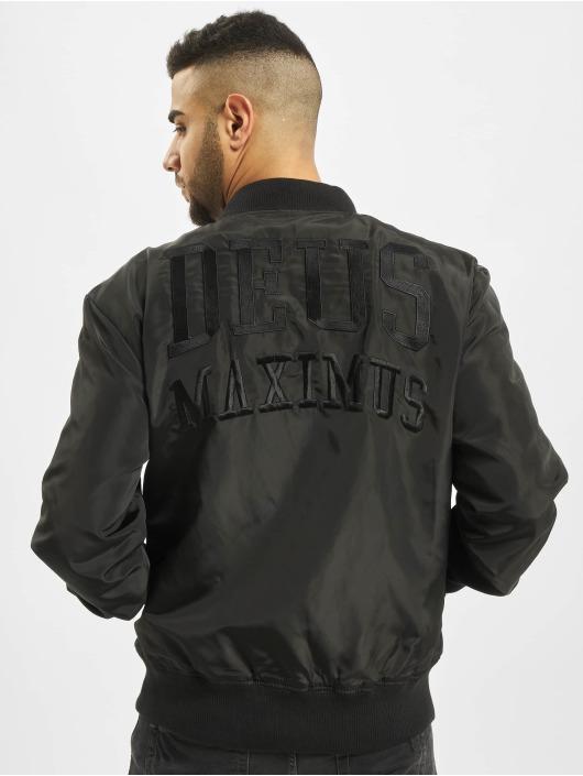 Deus Maximus Cazadora bomber Phantom negro