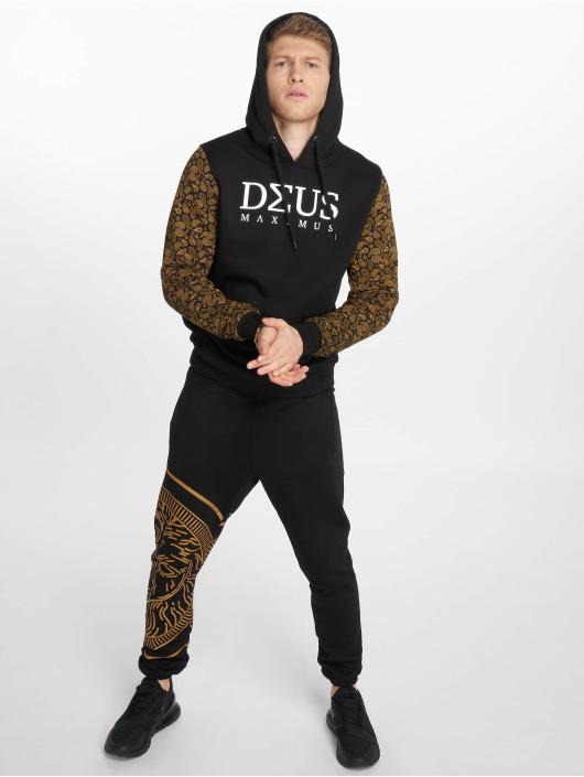 Deus Maximus Hoodie Louisblanche svart