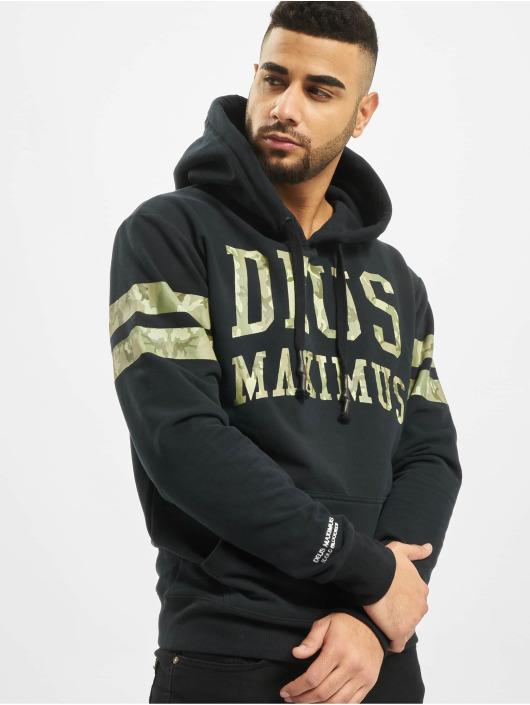 Deus Maximus Hoodie Incognito svart