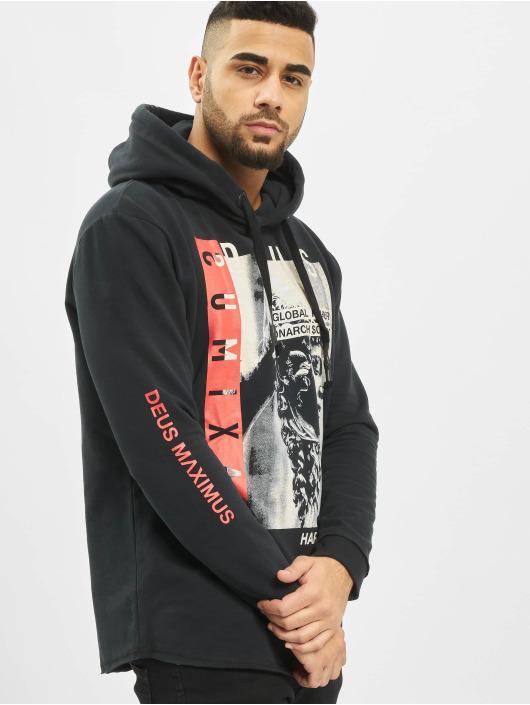 Deus Maximus Hoodie Global Player svart