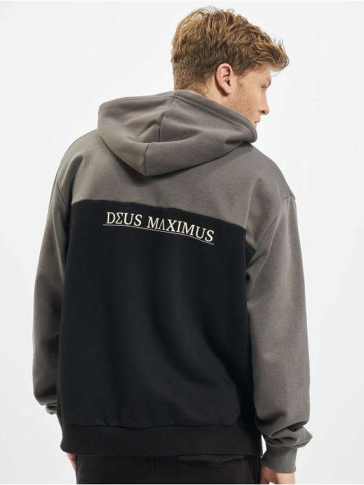 Deus Maximus Hoody Tanatos schwarz