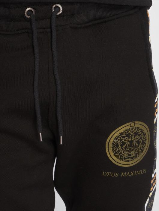 Deus Maximus Joggebukser GIANNI svart