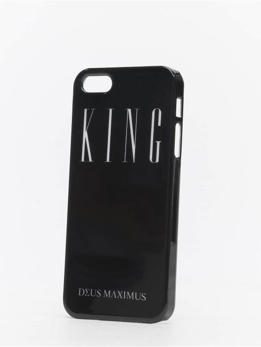 Deus Maximus Mobiltelefondeksel King iPhone svart