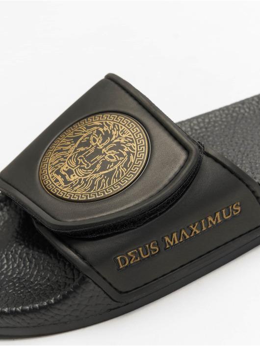 Deus Maximus Sandalen Augustus schwarz