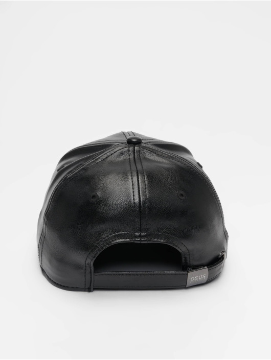 Deus Maximus Snapback Cap Cesare black