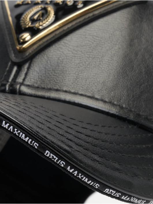 Deus Maximus Snapback Cap Cesare schwarz