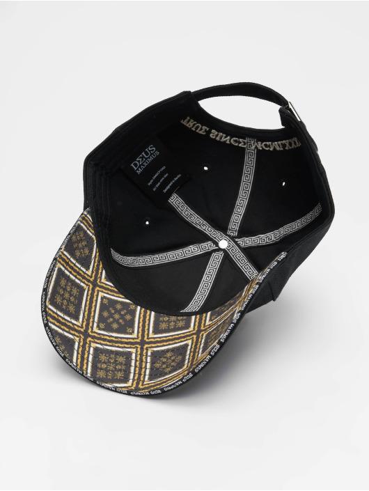 Deus Maximus snapback cap Gianni zwart