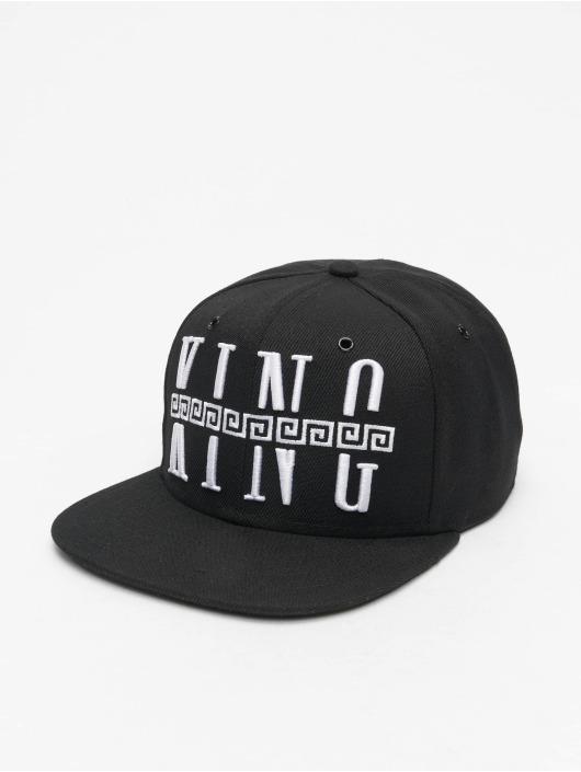 Deus Maximus Snapback Caps King čern