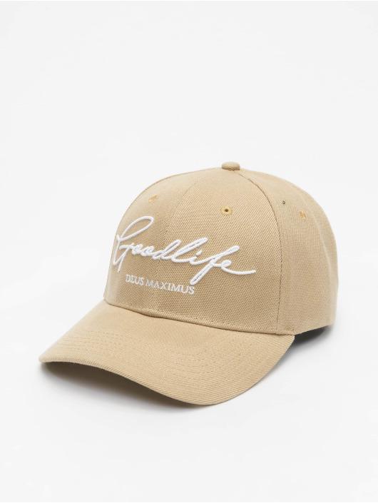 Deus Maximus Snapback Caps Goodlife beige