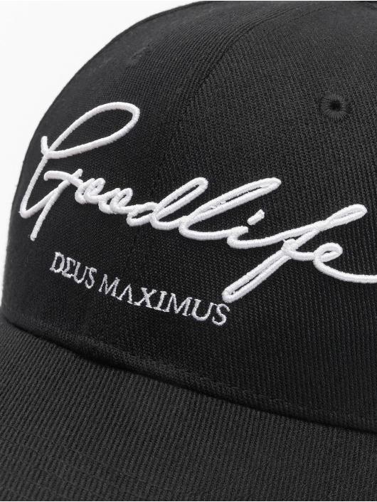 Deus Maximus Snapback Caps Goodlife czarny