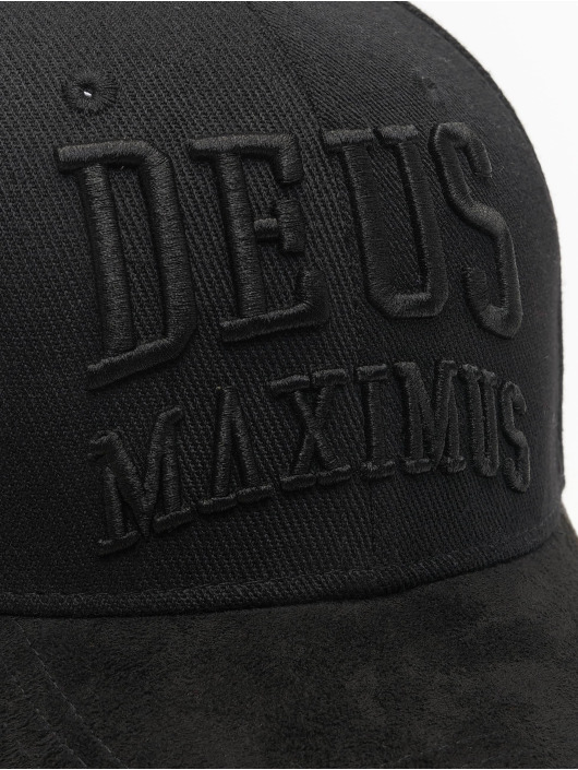 Deus Maximus Snapback Caps Maximus sort