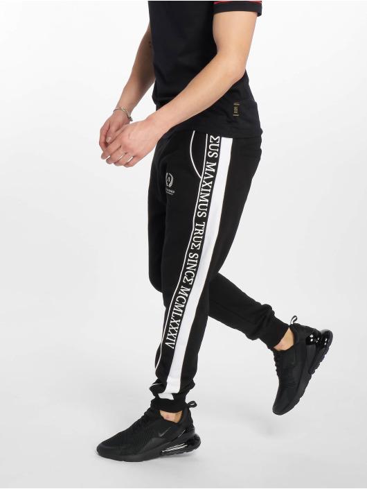 Deus Maximus Spodnie do joggingu Crius czarny