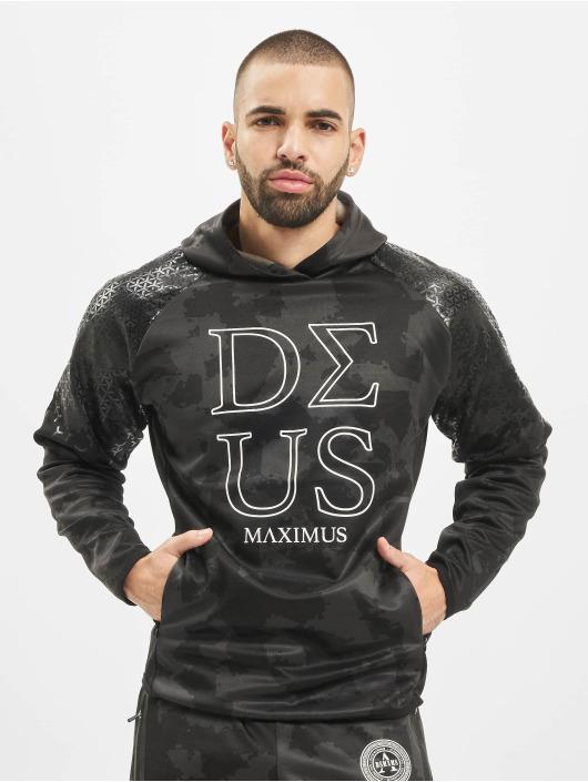 Deus Maximus Sport Hoodies Surrender kamufláž