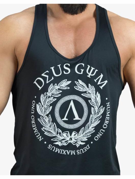 Deus Maximus Sport Tanks Uno čern
