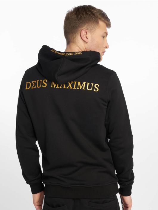 Deus Maximus Sweat capuche zippé Ximenes noir
