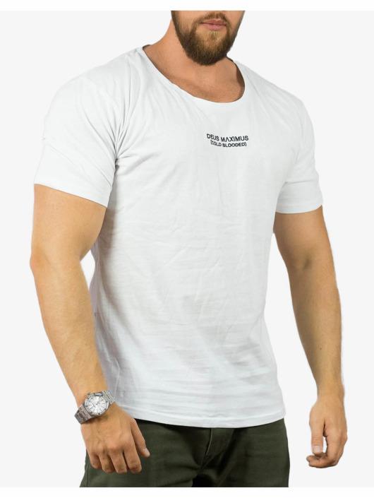 Deus Maximus T-paidat Private World valkoinen