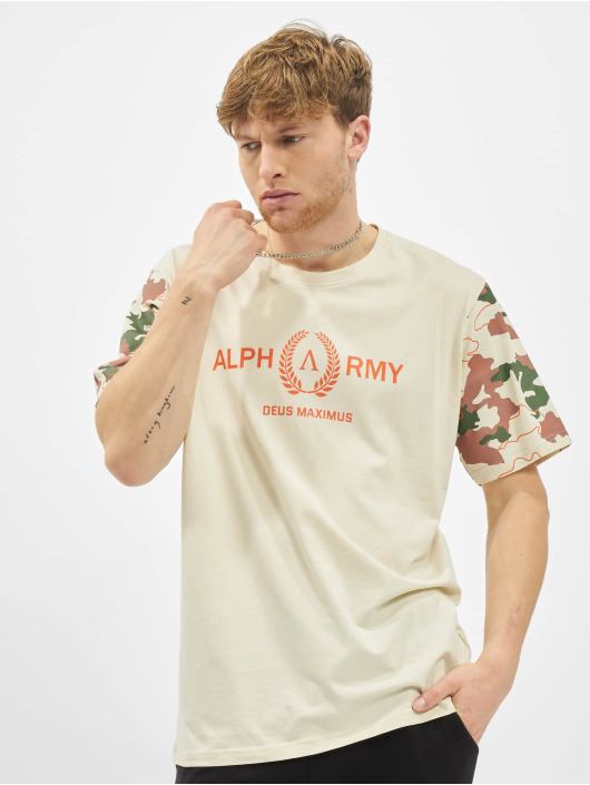Deus Maximus T-Shirt Menon beige