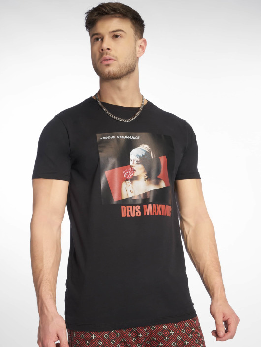 Deus Maximus T-Shirt Andries black