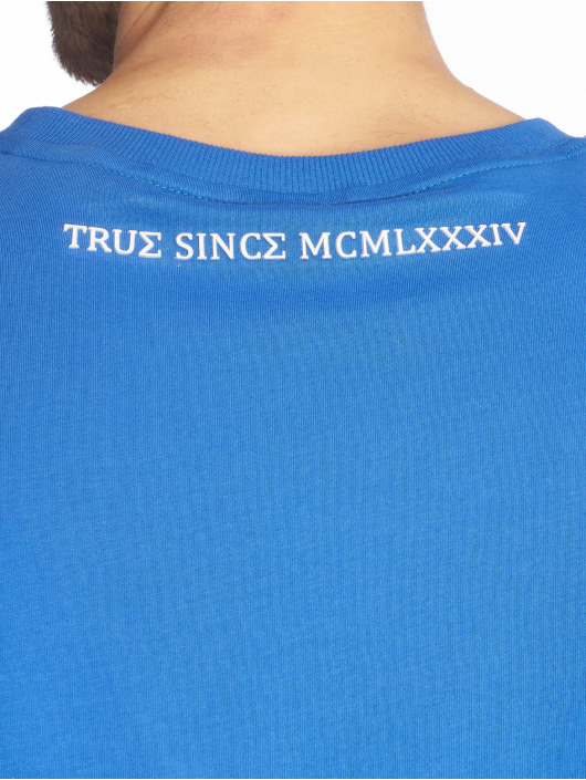 Deus Maximus T-Shirt Vecchio blau